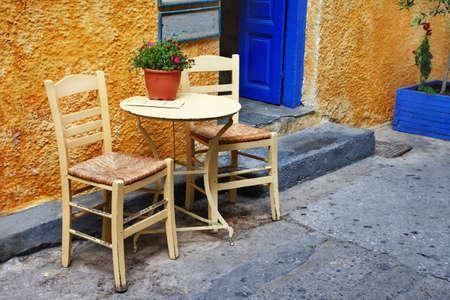 backstreet: traditional small greek street tavernas