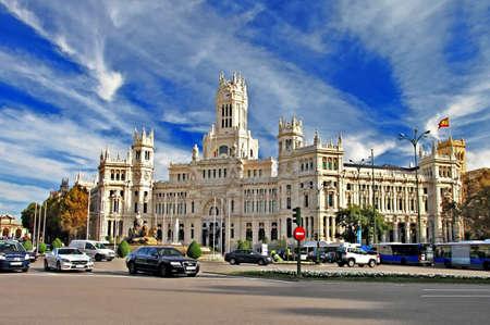 Plaza de la Cibeles Cybele s Square - Madrid Sajtókép