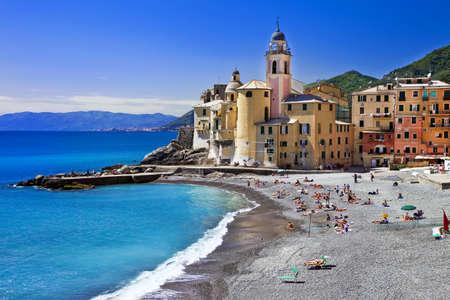 pictorial Ligurian coast - Camogli, Italy