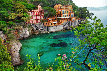 liguria: beautiful Portofino, Liguria, Italy Editorial