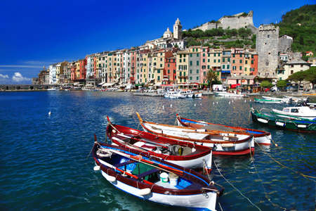 headland: Travel in Italy - beautiful Portovenere, Ligurian coast