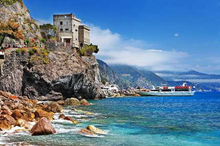 liguria: beautiful Italy - Monterosso, Cinque terre Stock Photo
