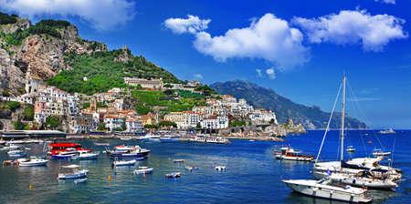 mediterranean culture: sunny Italy series - Amalfi