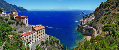 sea scenery: pictoril Italy series - Atrani - Amalfi coast