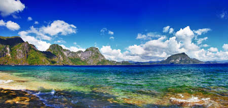 palawan: virgin nature of Philippines islands