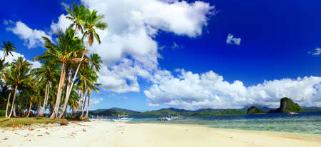 palawan: amazing nature of Philippines islands Stock Photo