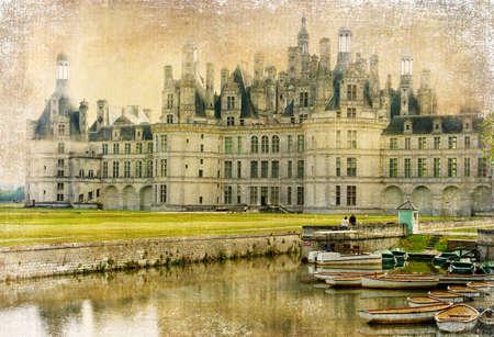 chambord: amazing Chambord castle - artistic picture