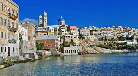 mediterranean countries: travel in Greek islands - Syros