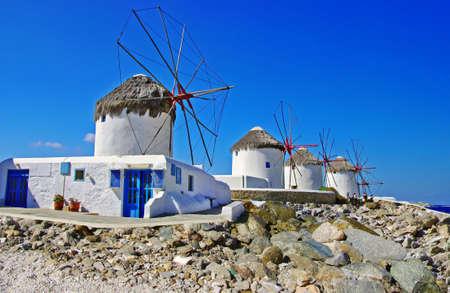 mykonos: windmills of Mykonos