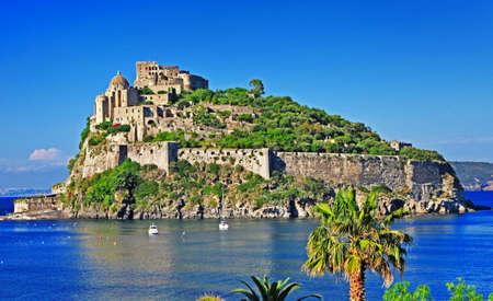 Aragonese castle ,Ischia, Italy