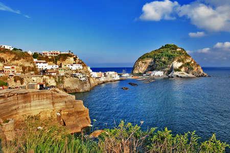 angelo: travel in Italy series - view of sant-angelo, Ischia island Stock Photo