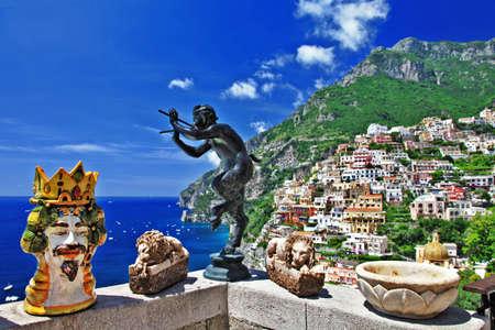 positano: beautiful Positano, Italy