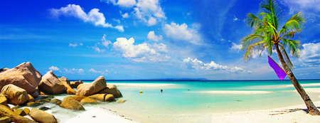 panorama beach: paradiso tropicale