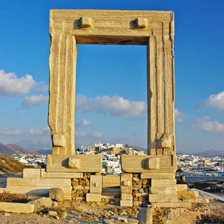 travel in Greek islands series - Naxos and appolo gate photo