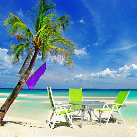 chill out in tropical paradise photo