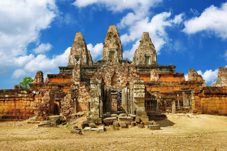 ancient cambodian temples photo