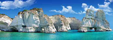 travel in greek islands series - Milos, Cyclades photo