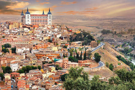 toledo town: Toledo - medieval Spain