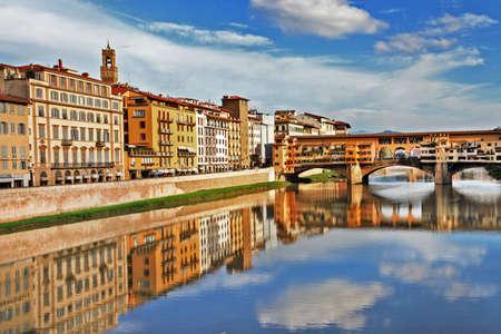 Increíble Florencia - Viaje a Italia series Foto de archivo - 17063650