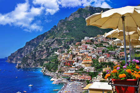 travel in Italy series - Positano Stock Photo