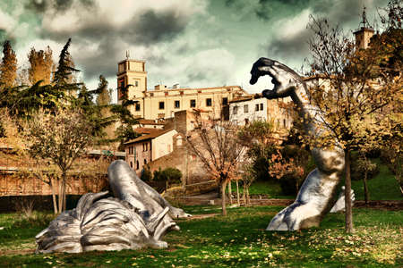 etrurian: medieval towns of Italy - Veterbo