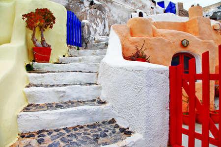 colors of Santorini photo