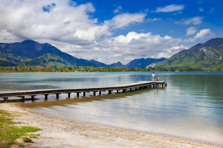 scenic Austrian lakes photo