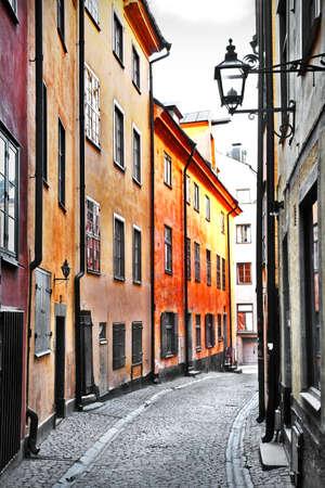 straten van Stockholm, de oude stad