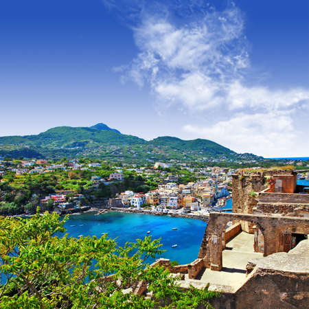 Ischia island, view from castle