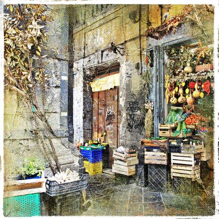Naples, old town Stock Photo