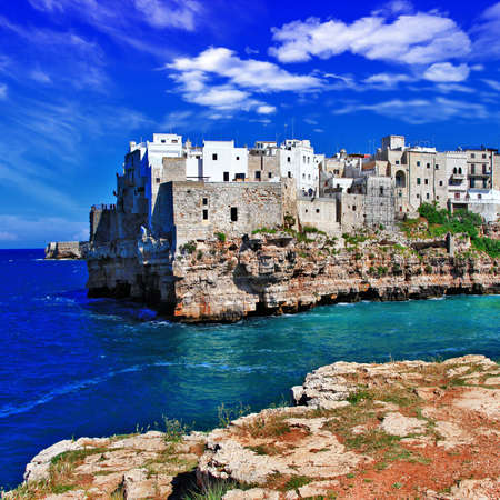 pictorial places of Italy series - Polignano al Mare  photo