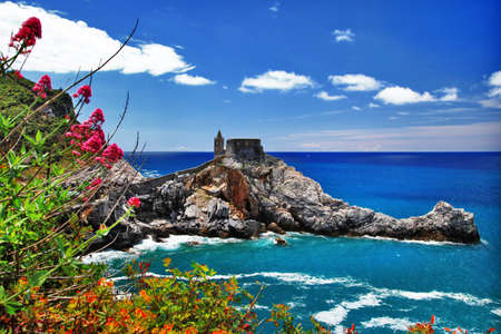 scenic Ligurian coast of Italy  Portovenere photo