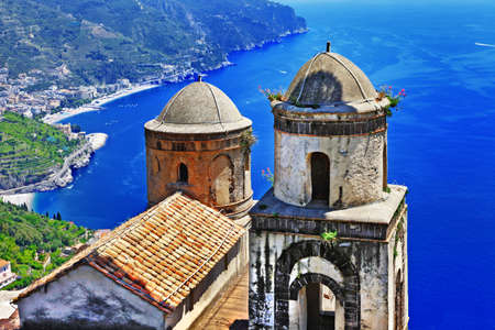 beautiful Ravello village  Amalfi coast  italy