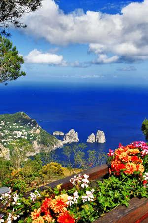 amazing Capri island photo
