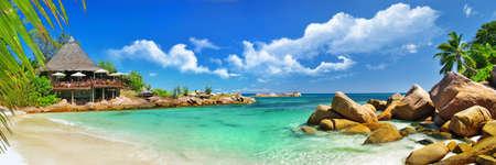 Seychelles paradis Banque d'images - 21135700