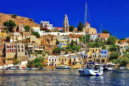 seafronts: Greek holidays - Symi island