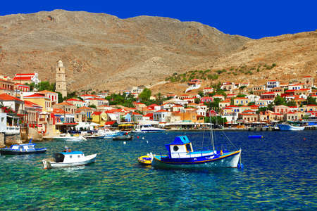 halki: pictorial Greek islands - Halki, Dodecanese