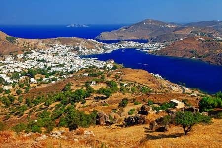 dodecanese: Patmos island, Dodecanese, Greece Stock Photo