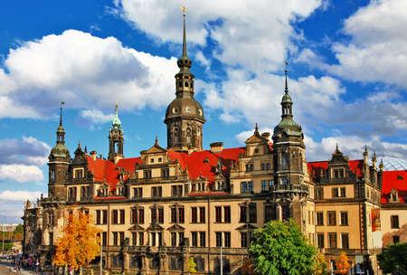 schloss: Dresden , germany Stock Photo