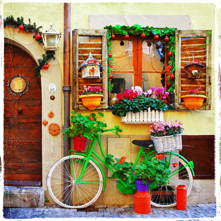 charming streets  photo