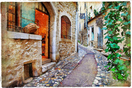 backstreet: charming streets of french villages