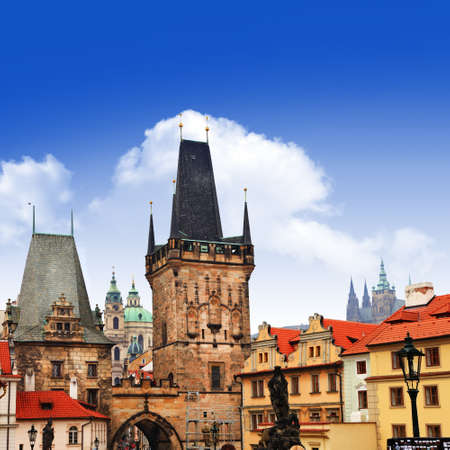 Prague, Charles bridge photo