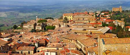 volterra: Volterra, medeival town of Tuscany, Italy Stock Photo