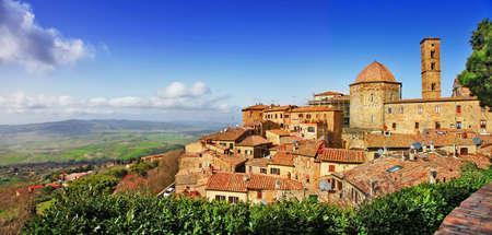 Volterra - ville médiévale de Toscane, Italie Banque d'images - 26621227