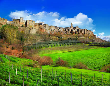 countrysides: scenic countrysides of Tuscany, Italy