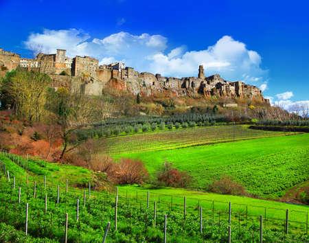 scenic countrysides of Tuscany, Italy