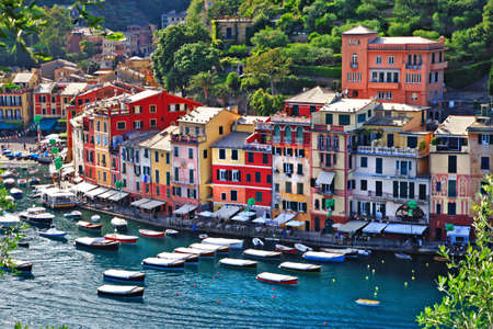 Portofino - luxury italian holidays Stock Photo