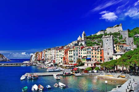 cinque terre: Portovenere - ligurian coast of Italy