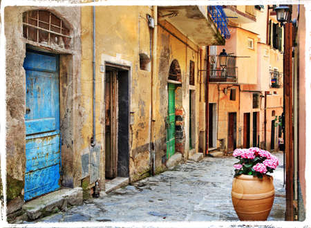old mediterranean streets