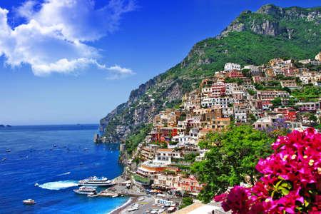 beautiful Italian coast - Positano Reklamní fotografie